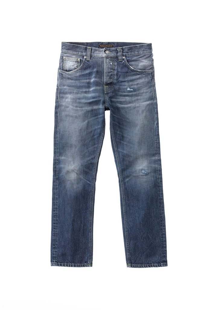 Nudie Sleepy Sixten - Authentic Green Jeans & Apparel - Dutil Denim