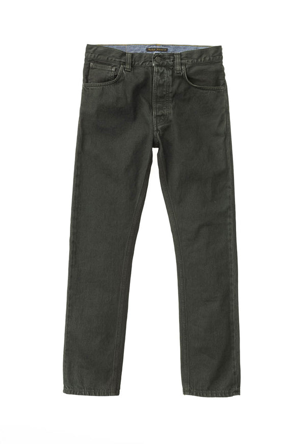 Nudie Fearless Freddie - Army Coated Jeans & Apparel - Dutil Denim