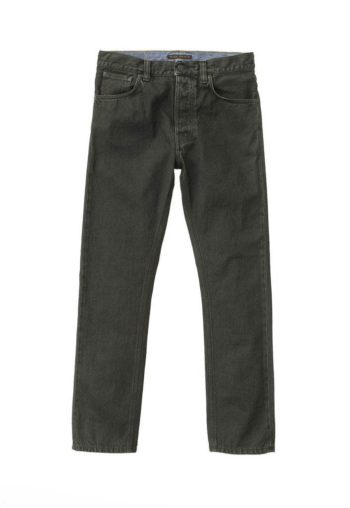 Nudie Fearless Freddie - Army Coated - Dutil Denim