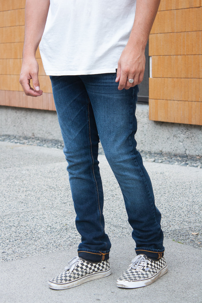 Nudie Grim Tim - Ink Navy Jeans & Apparel - Dutil Denim