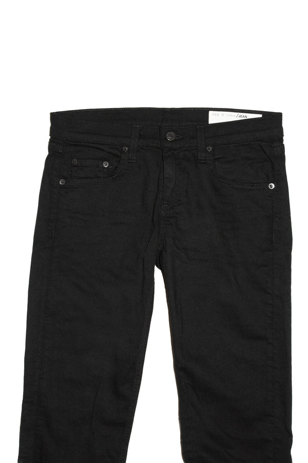 Rag & Bone Dre Skinny Boyfriend - Aged Black Jeans & Apparel - Dutil Denim