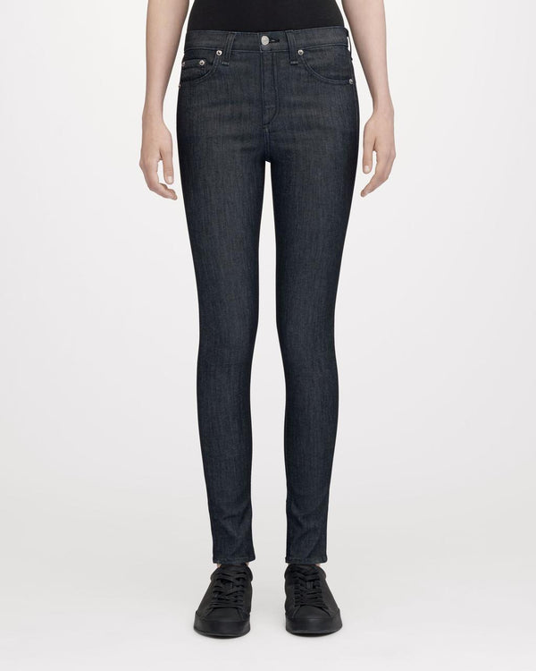 Rag & Bone High Rise Skinny - Indigo - Dutil Denim