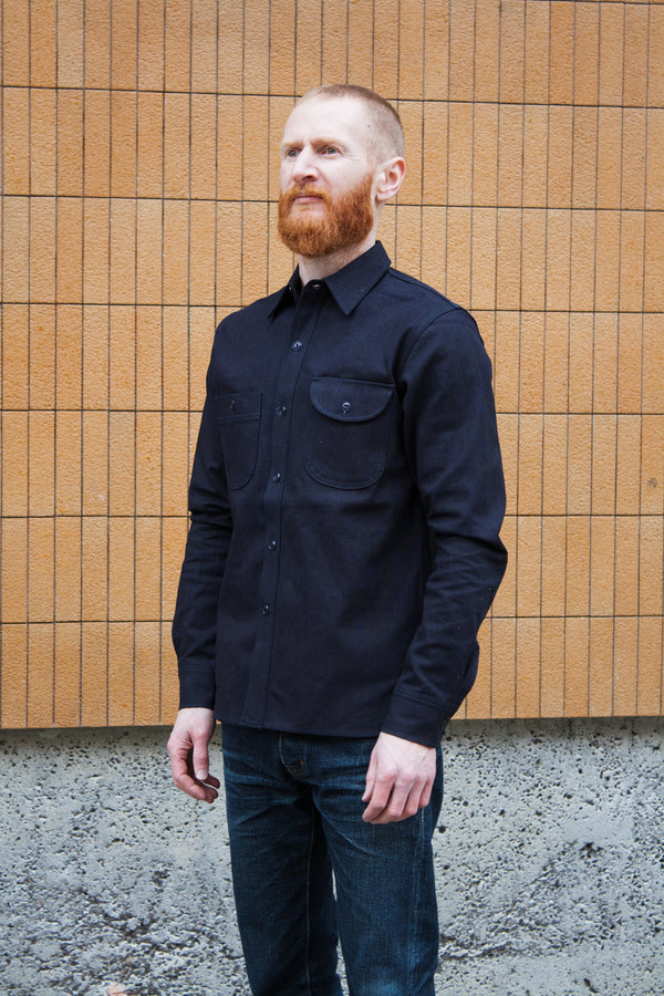 Rogue Territory Work Shirt - Indigo Selvedge Canvas