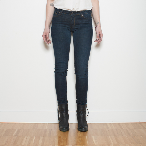Dutil Quintessential Mid-Rise Skinny - 1098 Wash - Dutil Denim