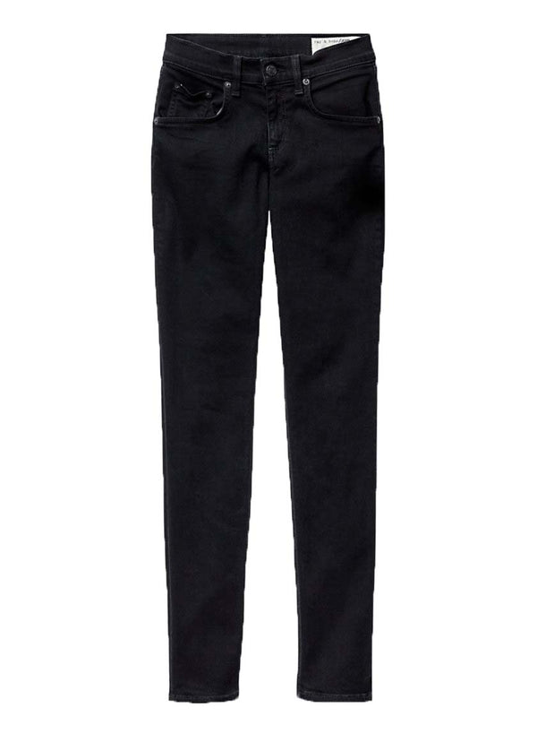 Rag & Bone High Rise Skinny - Coal - Dutil Denim