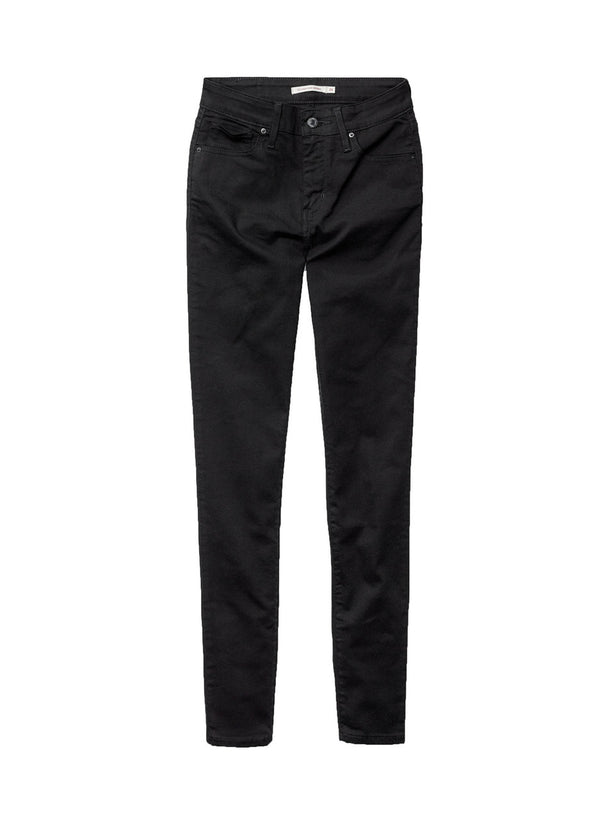 Levi's 721 Skinny - Soft Black Jeans & Apparel - Dutil Denim