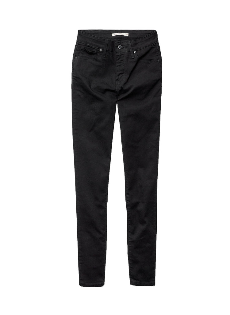Levi's 721 Skinny - Soft Black - Dutil Denim
