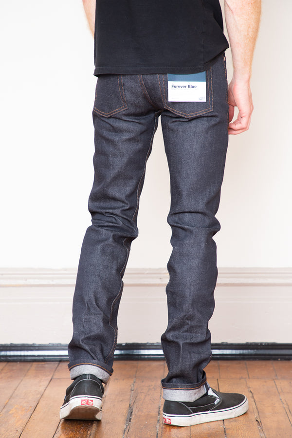 Naked & Famous Weird Guy - Forever Blue 12.5oz Stretch Selvedge
