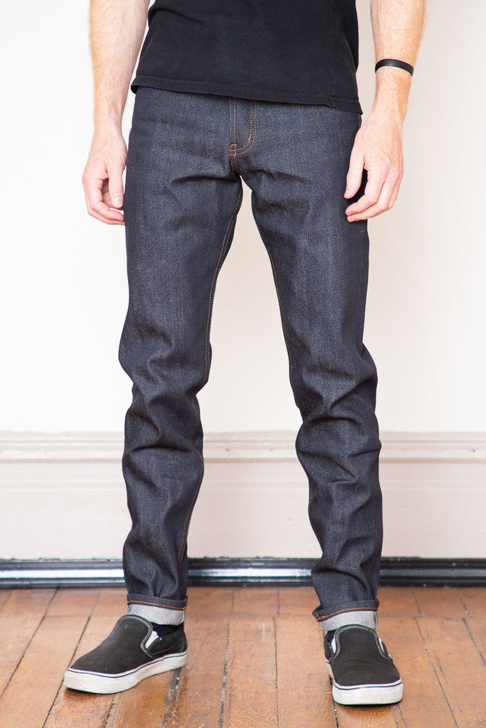 Naked & Famous Easy Guy - Forever Blue 12.5oz Stretch Selvedge
