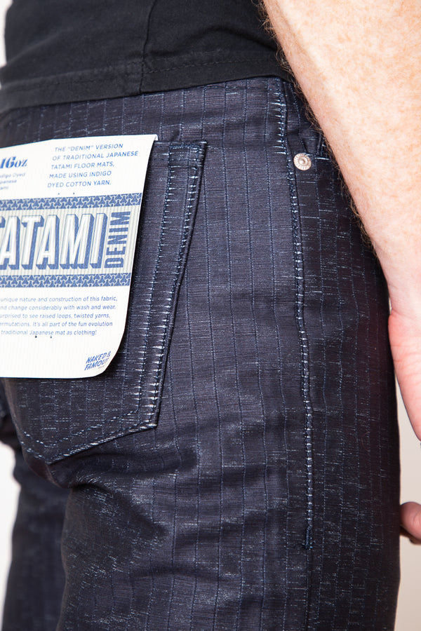 Naked & Famous Weird Guy - Tatami Denim