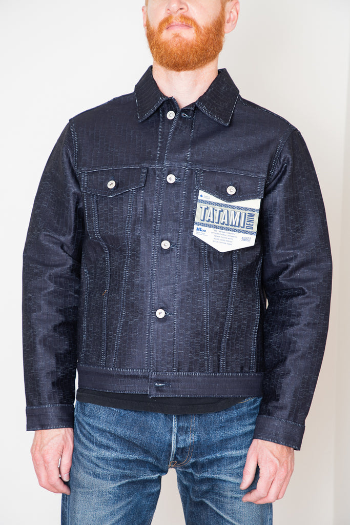 Naked & Famous Denim Jacket - Tatami Denim 12oz Indigo