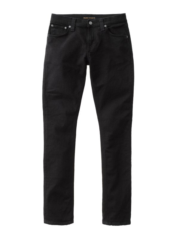 Nudie Tight Long John - Organic Black - Dutil Denim