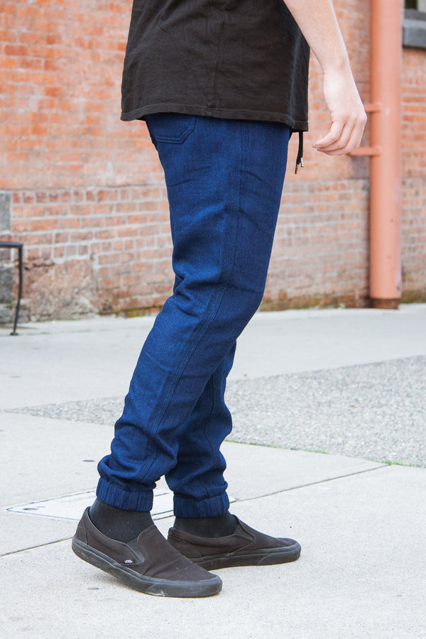 Rogue Territory Boarder Pant - Indigo Double Gauze Jeans & Apparel - Dutil Denim