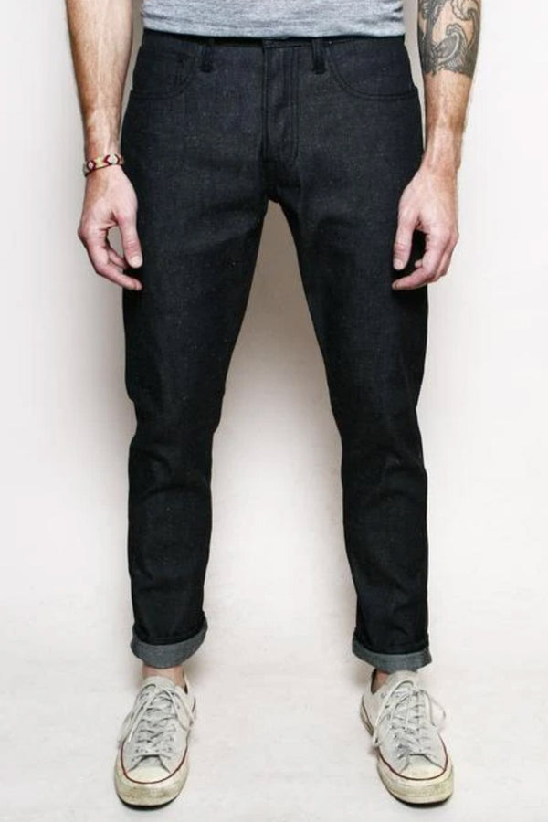 Rogue Territory Strong Taper - Neppy Dark Indigo 9oz