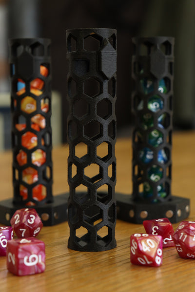 Dice Tube STL (Non-Commercial License)