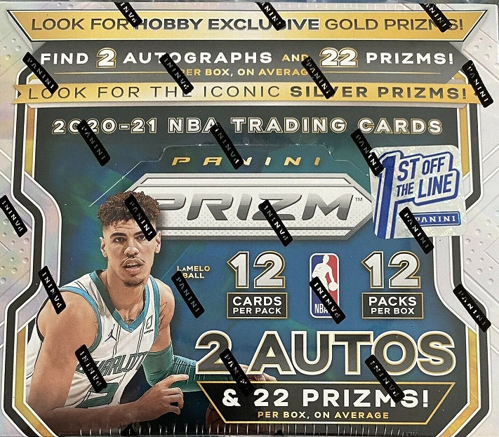 2020-21 Prizm Basketball FOTL Box   First Off The Line