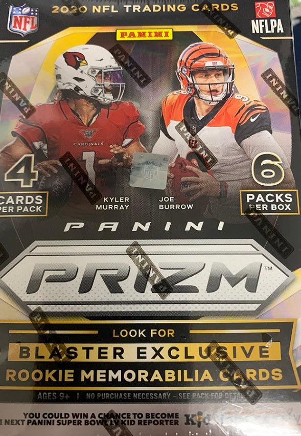 2020 Prizm Football Blaster Box