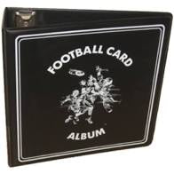 "BCW 3"" Black Football Card Album"