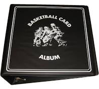 "BCW 3"" Black Basketball Card Album"