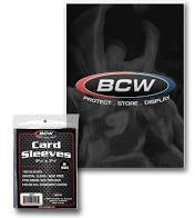 BCW Regular Card Sleeves (100 Count Pack)
