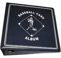 "BCW 3"" Blue Baseball Card Album"