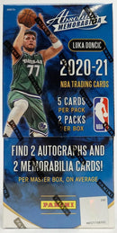 2020-21 Absolute Basketball Hobby Box