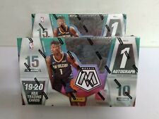 2019-20 Mosaic Basketball Hobby Box