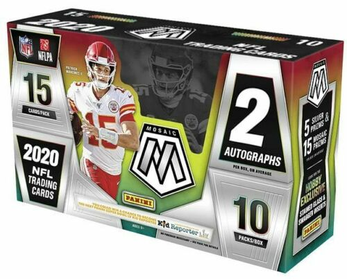 2020 Mosaic Football Hobby Box