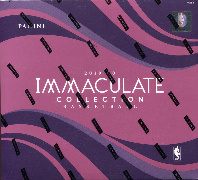 2019-20 Immaculate Basketball Hobby Box