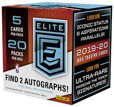 2019-20 Elite Basketball Hobby Box