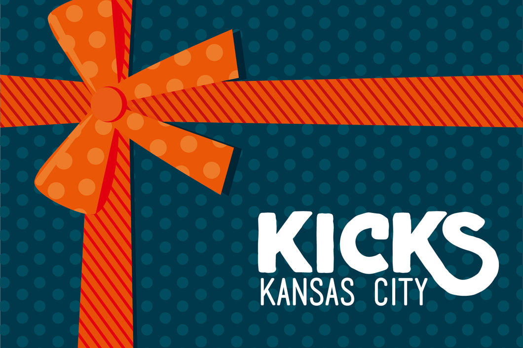 KC Kicks Gift Card