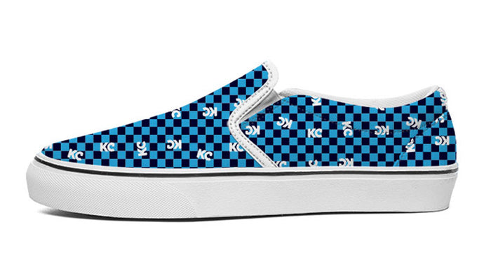 KC Slip-on: Royal Check
