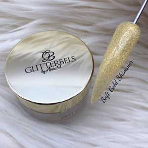 Soft Gold Shimmer 28g - The Nail Throne USA
