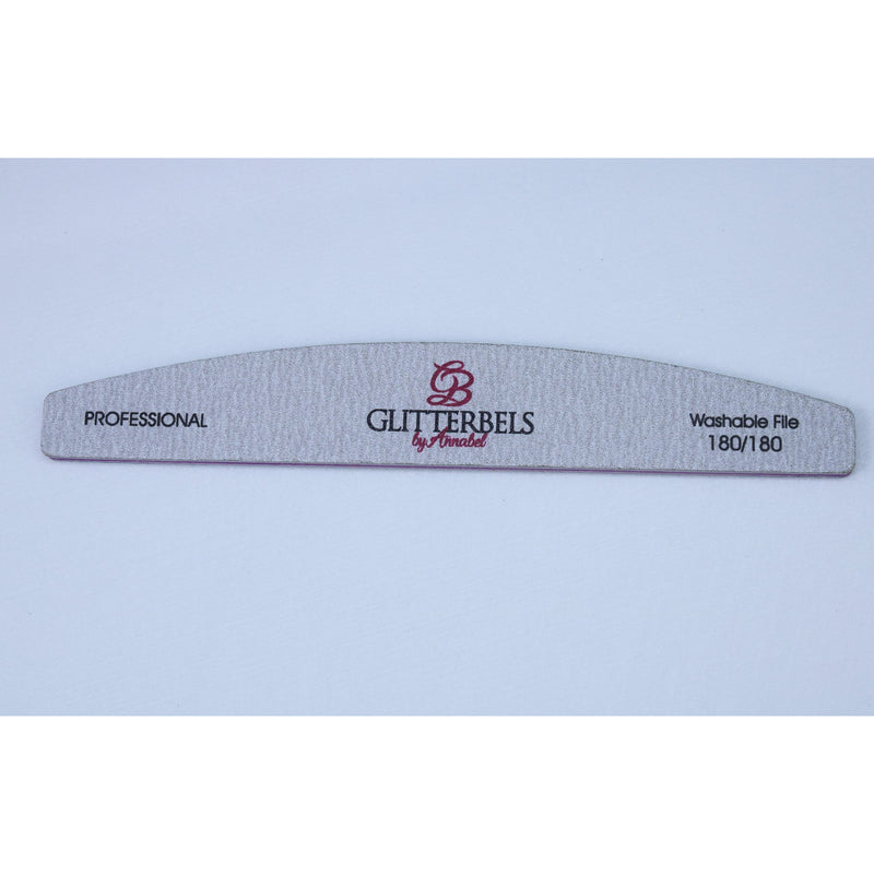 Nail file 180/180 grit individual - The Nail Throne USA