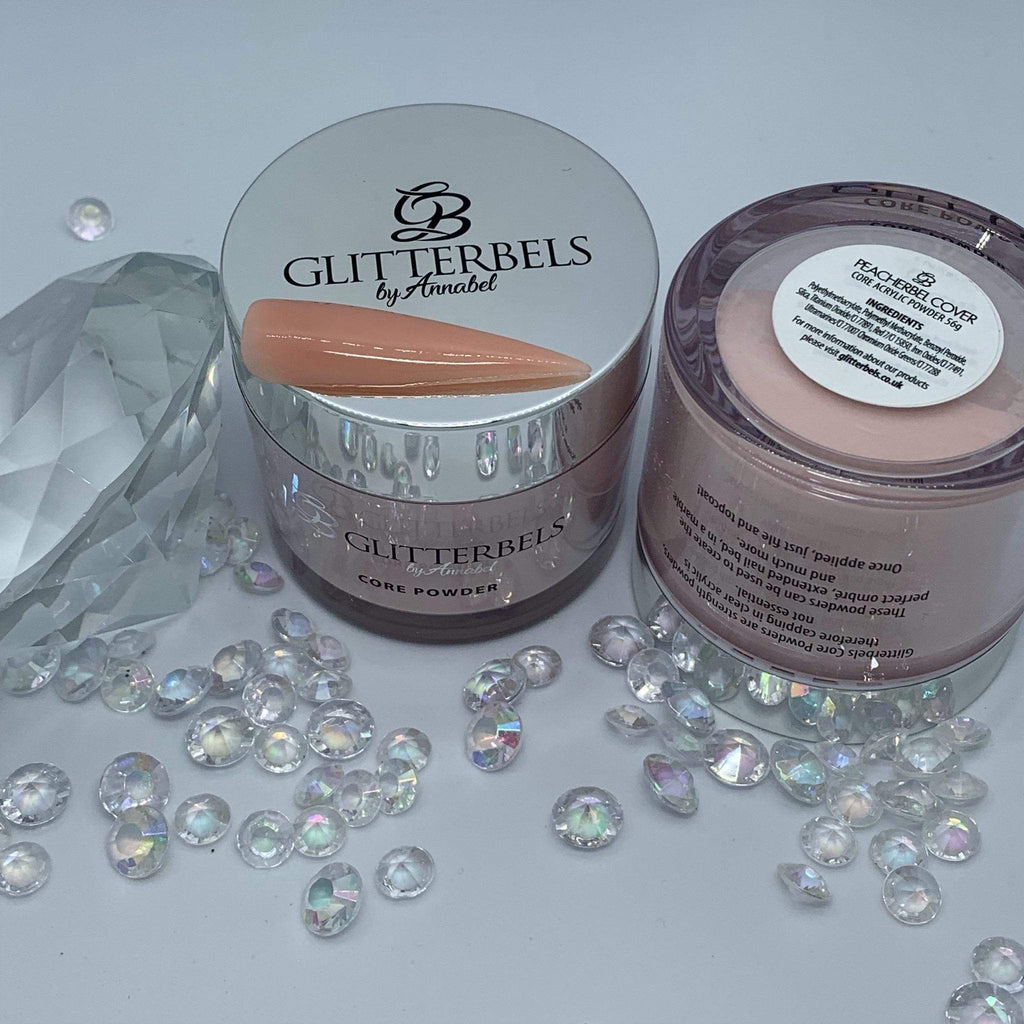 Glitterbels Peacherbel Cover 56g - The Nail Throne USA