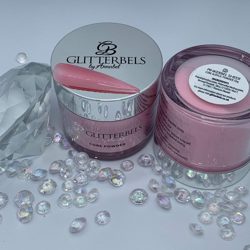 Glitterbels Pinkerbel Sheer 56g - The Nail Throne USA