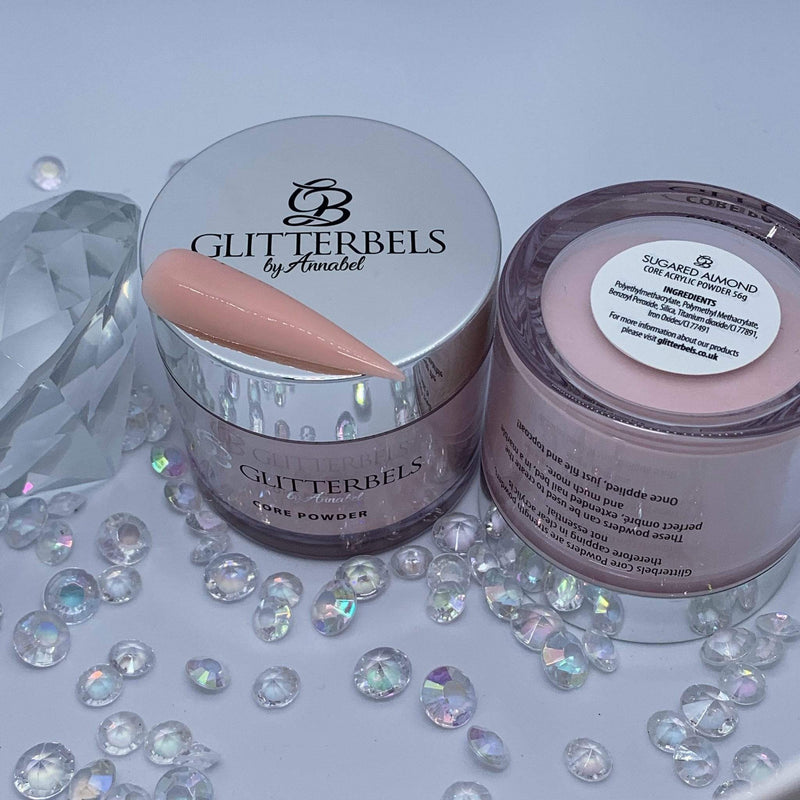 Glitterbels Sugared Almond 56g - The Nail Throne USA