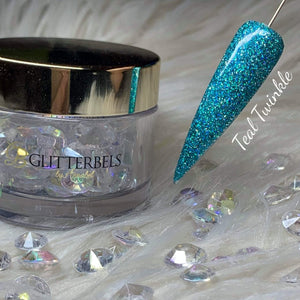 Teal Twinkle 28g - The Nail Throne USA