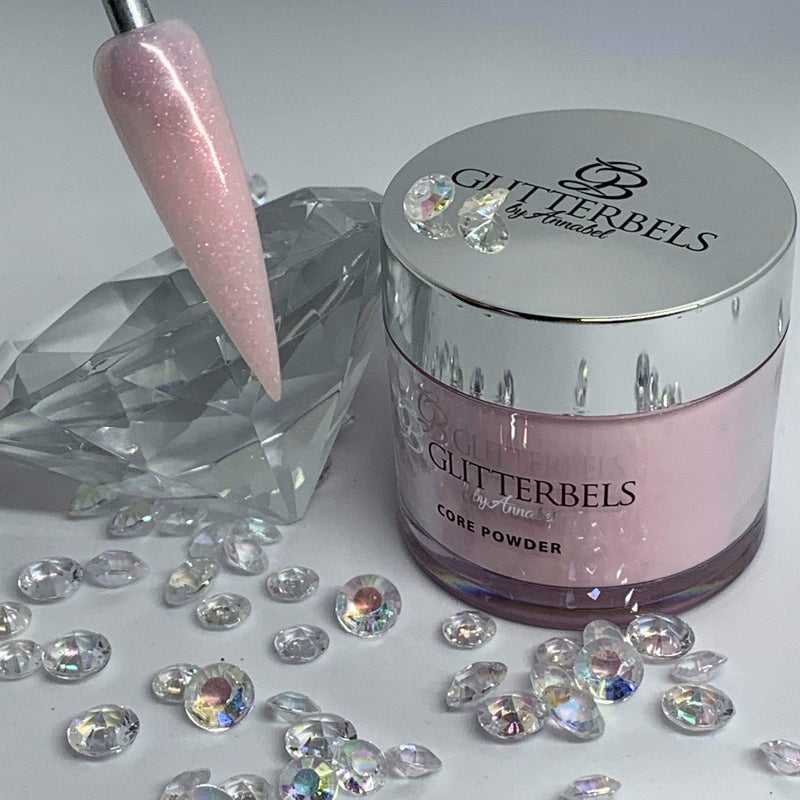 Glitterbels Pink Opal Shimmer 56g - The Nail Throne USA