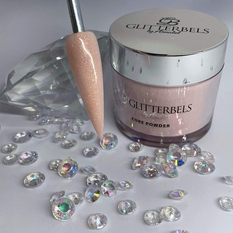 Glitterbels Sugared Almond Shimmer 56g - The Nail Throne USA