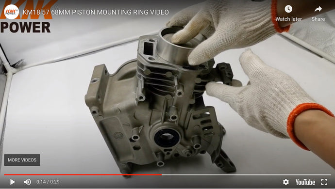 KM18-57 PISTON MOUNTING RING VIDEO