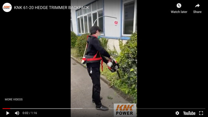 61-20 HEDGE TRIMMER BACKPACK VIDEO