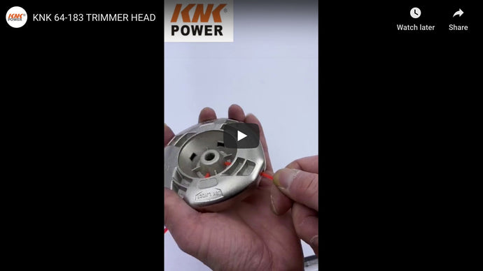 64-183 TRIMMER HEAD VIDEO