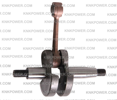 14-213 CRANK SHAFT MITSUBISHI TU26 ENGINE