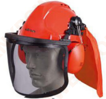 knkpower [16444] FACESHIELD in orange color