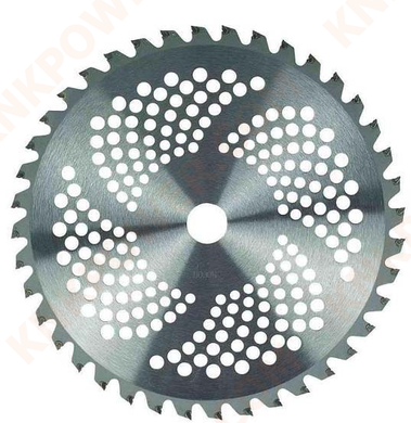 knkpower [14742] BRUSH CUTTER TCT BLADE 40T*255*1.4MM*φ25.4MM