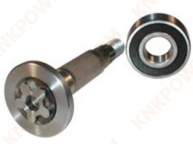 knkpower [14812] SPINDLE SHAFT FOR AYP 137553,HUSQVARNA 532137553, 285-373, 44-90005 SPINDLE SHAFT