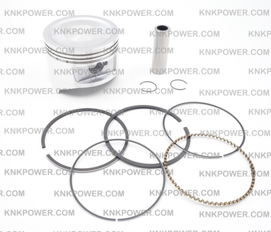 11-407 PISTON KIT 13101-ZE6-W00 HONDA GX340 ENGINE