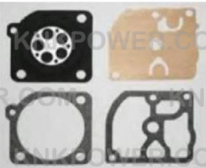 35-124 CARBURETOR DIAPHRAM Replace Zama GND-57 ECHO CS-5100 CHAINSAWS WITH THE FOLLOWING CARBURETOR NUMBERS: C1Q-K64 AND C1Q-K79.