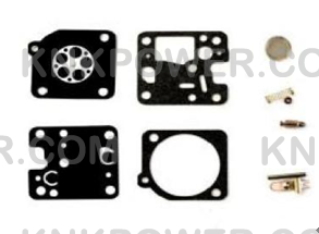 35-177A CARBURETOR DIAPHRAM Replace Zama RB-123 ZAMA CARBURETOR REBUILD KIT COMMON ON ECHO PRODUCTS USED IN RB-K75 RB-K85 RB-K86 RB-K93 CARBURETORS